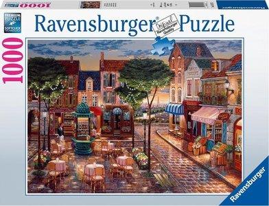 Ravensburger puzzel - Geschilderd Parijs  - 1000 stukjes