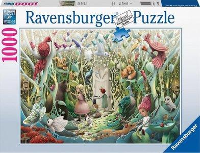 Ravensburger puzzel -  Geheime tuin - 1000 stukjes