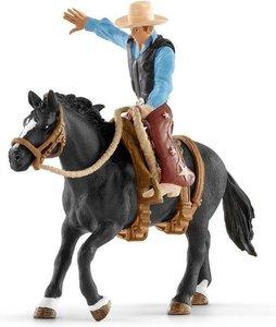 Schleich Farm World - Western cowboy in het zadel - 41416