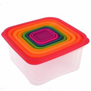 Cozzoni - 8-in-1 - Vierkante - Vershoudbakjes - voedselopslag containerset