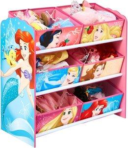 Disney prinsessen - Speelgoed opbergkast met 6 bakken