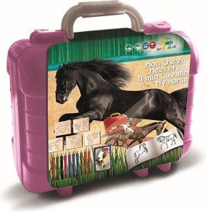 Paarden knutselkoffer