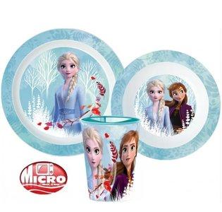 Frozen II ontbijt servies - micro
