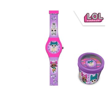 LOL Surprise horloge in metalen gift box