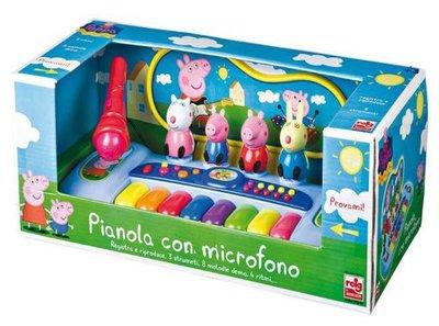 Peppa Pig piano met microfoon