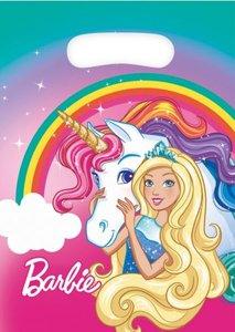 Barbie feestzakjes eenhoorn