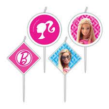 Barbie taartkaarsjes
