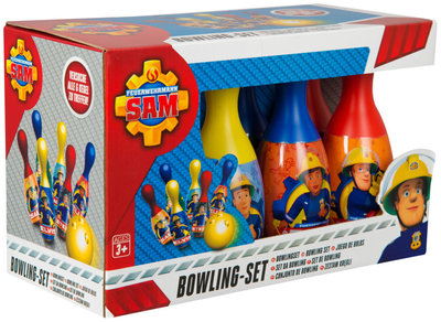 Brandweerman Sam bowling spel
