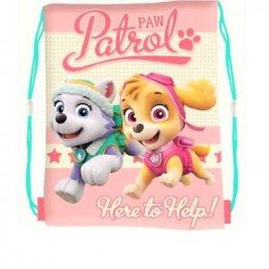 Paw Patrol Skye en Everest zwemtas roze