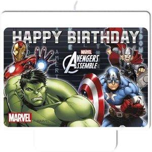 The Avengers verjaardags kaars